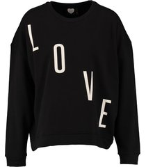 catwalk junkie zwarte oversized sweater