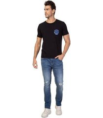 t-shirt masculina guess international denim - masculino