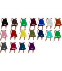 women's long high waisted a line stetch skirt flared knee lenglth custom made ma