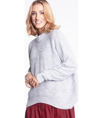 szary sweter oversize tiffany