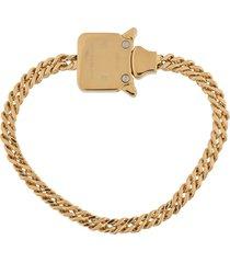 1017 alyx 9sm chainlink bracelet - gold