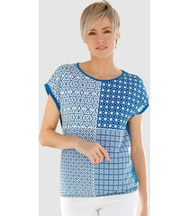 shirt laura kent royal blue