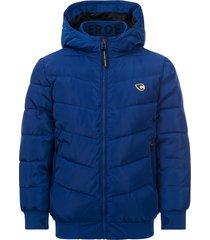common heroes kobalt bomber jas voor jongens in de kleur
