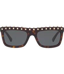 valentino valentino va4010 havana sunglasses