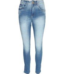 calça jeans biotipo skinny alice azul