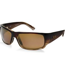 maui jim polarized world cup sunglasses, h266-01