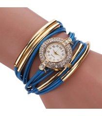 reloj azul re-11901