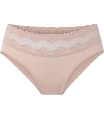 natori bliss perfection maternity bikini panty, women's, 100% cotton, size l