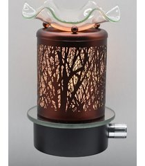 copper deer wall plugin oil/tart warmer use with scentsy/yankee candle
