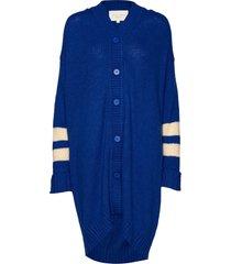 abby cardigan gebreide trui cardigan blauw lollys laundry