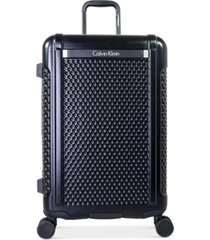 """closeout! calvin klein driver 24"""" expandable hardside spinner suitcase, created for macy's"""