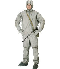 nbc bio war russian chemical protection rubber suit l-1 for gp-5/gp-7/gp-9  new