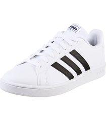 zapatilla blanca adidas originals grand court base