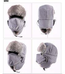 2017 plush men winter trapper trooper hunting russian ushanka earflap hat