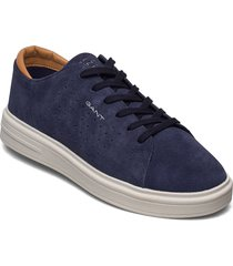 fairville low lace shoes låga sneakers blå gant