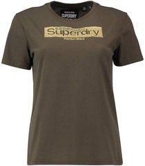 t-shirt premium brand groen