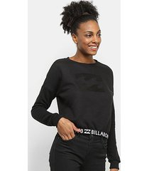moletom billabong confort day feminino