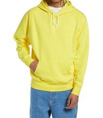 men's bp. fleece hoodie, size medium - yellow