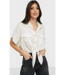 nly trend cargo summer shirt skjortor