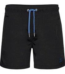 cf swim shorts badshorts svart gant