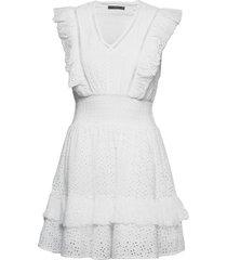 aisha dress kort klänning vit guess jeans