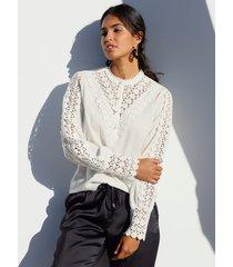blouse cream offwhite