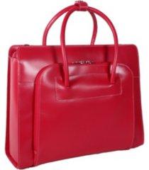 """mcklein lake forest 15"""" ladies laptop briefcase"""