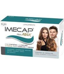 imecap hair max - tratamento cabelo e unhas 30 cáps