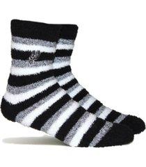 stance women's san antonio spurs fuzzy steps socks