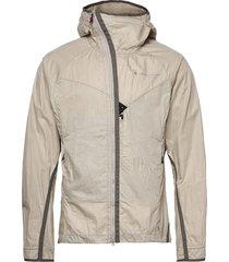ansur hooded wind jacket m's outerwear sport jackets beige klättermusen
