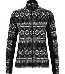 rille fleece sweat-shirts & hoodies fleeces & midlayers svart kari traa