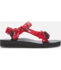 arizona love women's trekky bandana sandals - red - uk 6