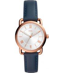 reloj fashion azul fossil