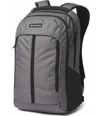 mochila poliéster mazama 27l backpack negro/gris columbia