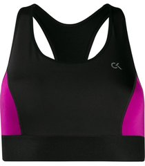 calvin klein underwear high impact sports bra - black
