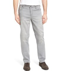 men's liverpool regent relaxed straight leg jeans, size 28 x 34 - grey