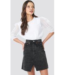 cheap monday shrunken skirt - black