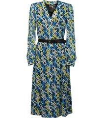 michael michael kors multi 60s floral kate dress