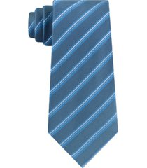 kenneth cole reaction men's slick slim stripe tie