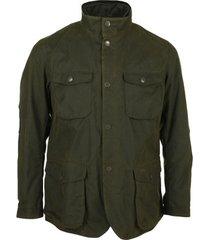 blazer barbour wax jacket ogston