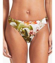 bali palm mindful bikini bottom