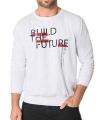 buzo future blanco para hombre croydon