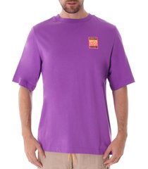 adiplore graphic tee - purple fr0590