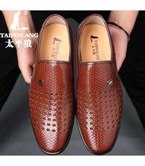 hombre zapatos oxford regan transpirables zapatos de negocios de verano