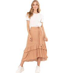 falda melbourne amarillo ragged pf11320378
