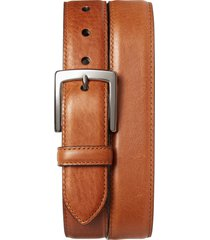 men's shinola bedrock leather belt, size 36 - bourbon