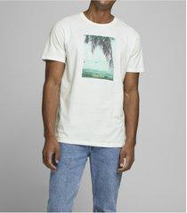 jack & jones men's graphic crew neck t-shirt