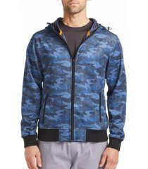 tallia men's slim fit hoodie with free matching mask