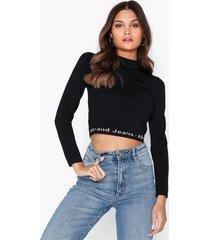 abrand jeans ''a brooke l/s knitted tee långärmade toppar