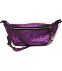 riñonera violeta chava male